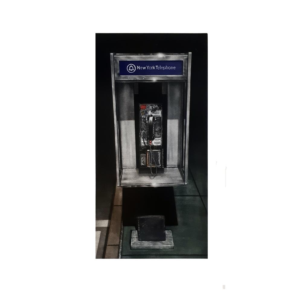 Grabado Cabina teléfono